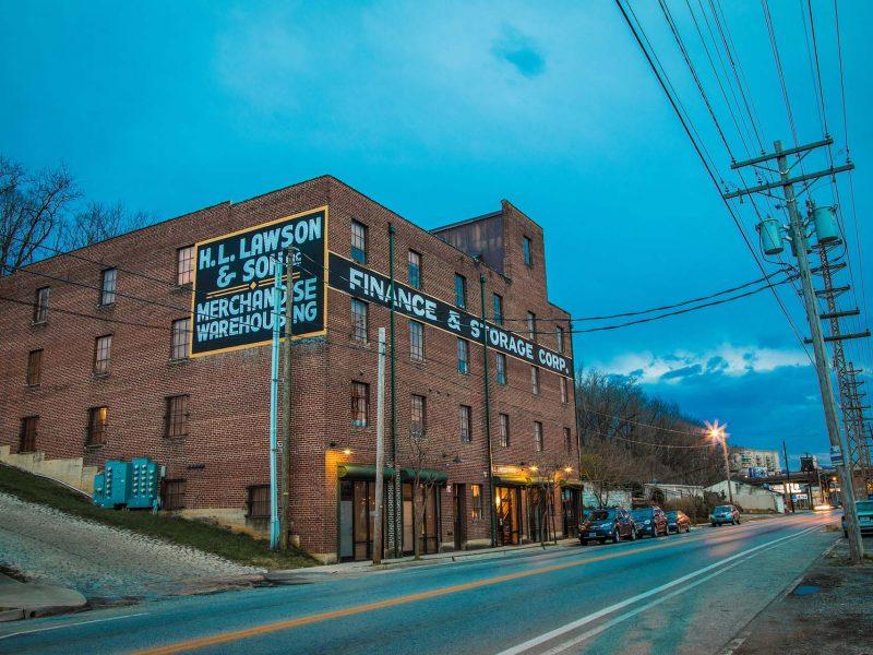 Lawson Apartment Building in color